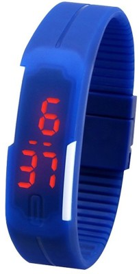 Q Q Led Band Digital Watch    For Men   Women available at Flipkart for Rs.149