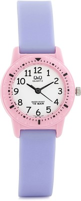 Q&Q VR15J006Y  Analog Watch For Girls