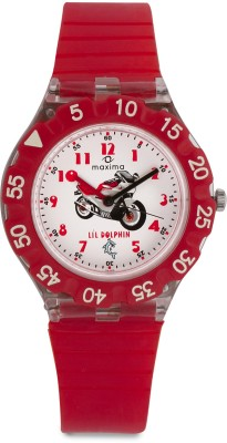 Maxima 04466PPKW Fiber Analog Watch For Kids