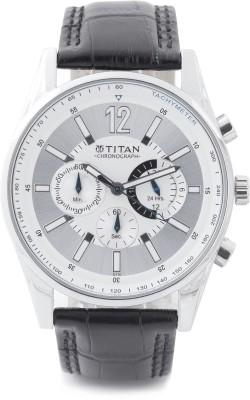 Titan NH9322SL02 Classique Analog Watch   For Men Titan Wrist Watches
