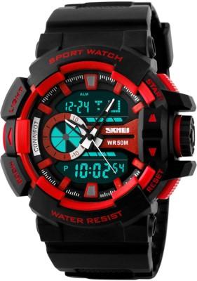 SKMEI S073C0 Analog Digital Watch   For Men SKMEI Wrist Watches