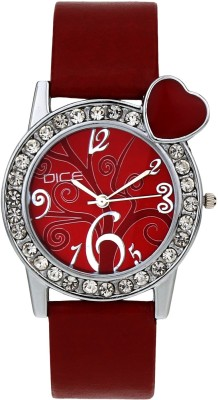 DICE HBTR-M174-9755 Heartbeat Analog Watch For Women
