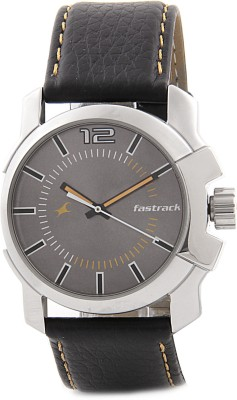 Fastrack NG3097SL01C Midnight Party Analog Watch   For Men Fastrack Wrist Watches