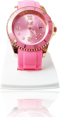 Style Feathers SF-IceLightPinkh2 Watch  - For Girls