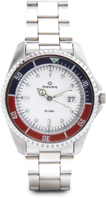 MAXIMA 00455CMGI Attivo Analog Watch   For Men MAXIMA Wrist Watches