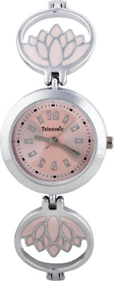 Telesonic LCS09-PINK Integrity Series Analog Watch For Women