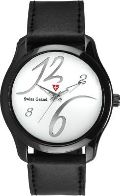 Swiss Grand Sg 0219_white Grand Analog Watch   For Men Swiss Grand Wrist Watches