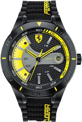 Scuderia Ferrari 0830266 Red Rev Evo Analog Watch  - For Men at flipkart
