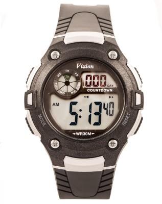 Vizion V8543091-2BLACK Sports Series Digital Watch For Boys