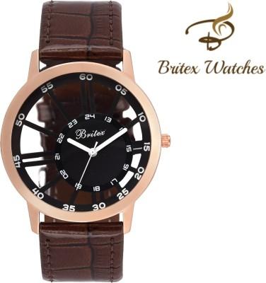 Britex BT6083 Transparent Squelette Analog Watch For Boys