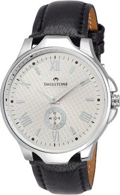 SWISSTONE GR022-SLV-BLK  Analog Watch For Boys