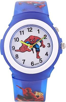 Devars H3033-DBL-SPIDERMAN Fashion Analog Watch For Boys