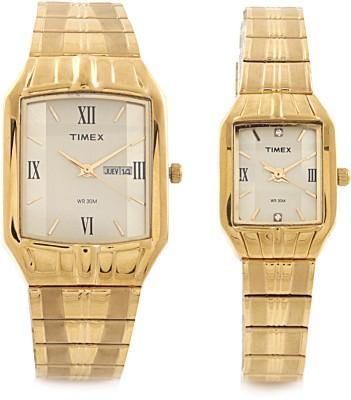 Timex PR133 Dresswear Analog Watch For Couple