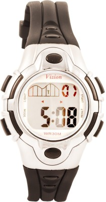 Vizion 8502-6BLACK Sports Series Digital Watch For Boys