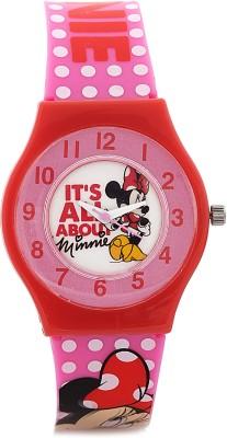 Disney SA7505MNE01 Minnie Analog Watch For Girls
