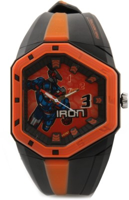 Zoop C3036PP09 Iron Man Analog Watch For Kids