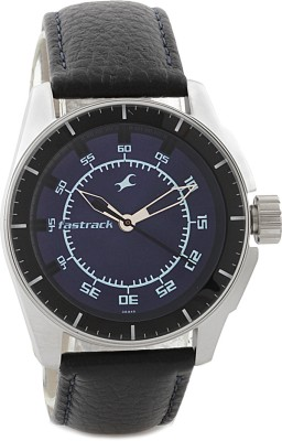 Fastrack NG3089SL01 Black Magic Analog Watch   For Men Fastrack Wrist Watches