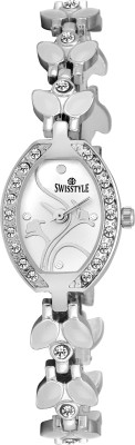 Swisstyle SS-LR6000-WHT-WHT  Analog Watch For Women