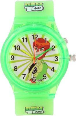 Devars H3032-GN-BENTEN Fashion Analog Watch For Boys