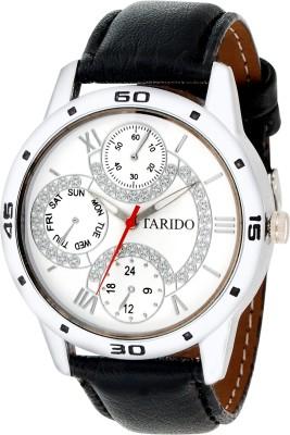 TARIDO TD GR204 WHT BLK Analog Watch   For Men TARIDO Wrist Watches