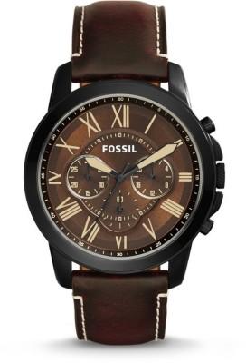 Fossil FS5088 Watch  - For Men