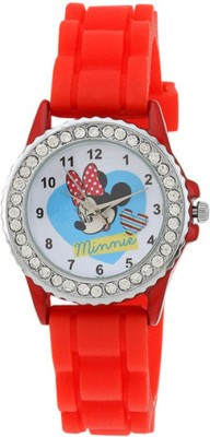 Disney LP-1006 (RED)  Analog Watch For Kids