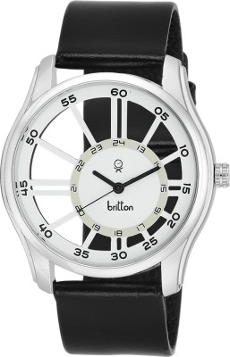 Britton BR-GR166-WHT-BLK  Analog Watch For Boys