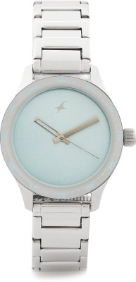 Fastrack NG6078SM03 Monochrome Analog Blue Dial Women's Watch
