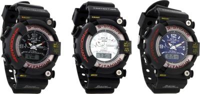 SHHORS DWW5007  Analog-Digital Watch For Boys