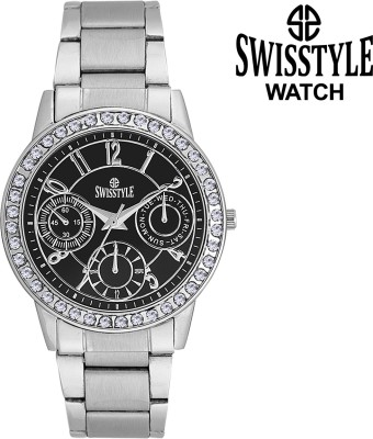 Swisstyle SS-LR0200-BLK  Analog Watch For Girls