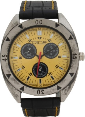 DICE WHL-M017-1101 Wheel Analog Watch For Men