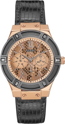Guess W0289L4 Rose Gold Toned Dial Analog Women's Watch (W0289L4)