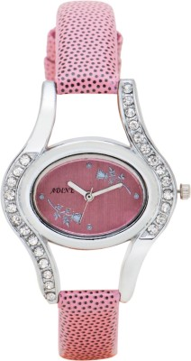 Adine AD-1242PNK  Analog Watch For Girls