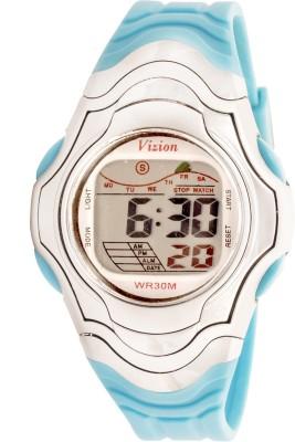 Vizion 8518-7BLUE Sports Series Digital Watch For Boys