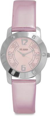 Fluid FL-112-PK01  Analog Watch For Girls