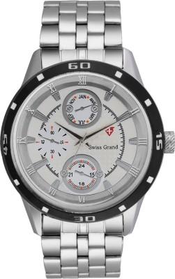 Swiss Grand S SG 0205_White Analog Watch   For Men Swiss Grand Wrist Watches