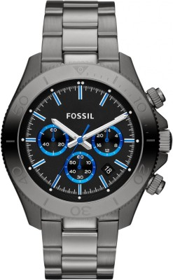 Fossil CH2869 Retro Traveler Chronograph Black Dial Men's Watch