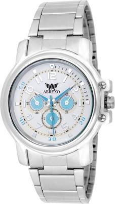Abrexo ABX-3340SLV-BLU Basic Series Analog Watch For Boys