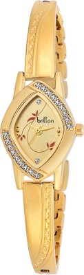 Britton BR-LR010-GLD-GLD  Analog Watch For Girls