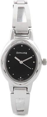 Sonata 8085SM01C Analog Watch  - For Women