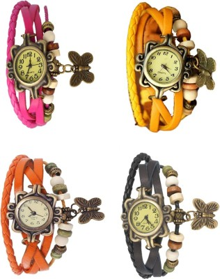 FabSale Rakhi Bracelate Running And Simple And Sobber Watches Combo Pack Of - 10 For Women And Girls Watch  - For Girls