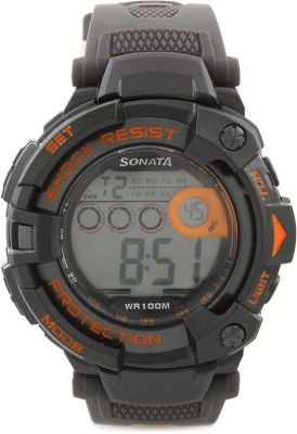 Sonata 77010PP04 Digital Watch