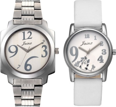 Jainx JC-404 Classic Analog Watch For Couple