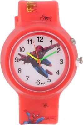 DevarS N87-RD-SPIDERMAN-2 Fashion Analog Watch For Boys