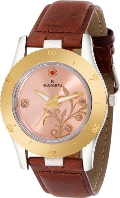 Kansai KW009  Analog Watch For Couple