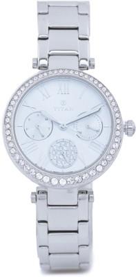 Titan 95023SM01J Analog Watch   For Women Titan Wrist Watches