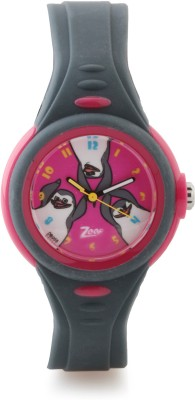 Zoop C4037PP05 Madagascar Analog Watch For Kids