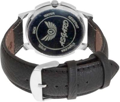 Asgard Stylex Silver Analog Watch   For Men Asgard Wrist Watches