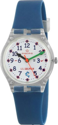 Maxima 04424PPKW FIBER Analog Watch For Kids
