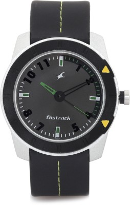 Fastrack NE3015AL02C Essentials Analog Watch   For Men Fastrack Wrist Watches